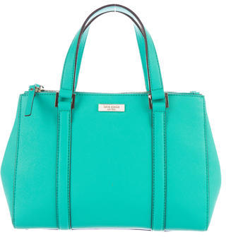 Kate Spade New York Newbury Lane Small Loden Satchel $145 thestylecure.com