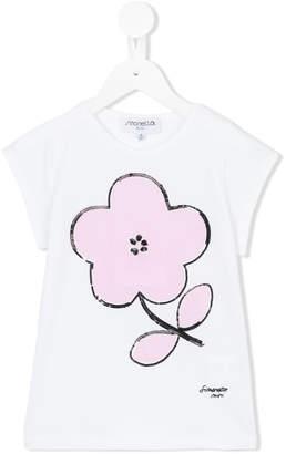 Simonetta flower print T-shirt