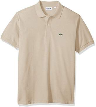 Lacoste Men's Short Sleeve Pique Classic Fit Chine Polo Shirt