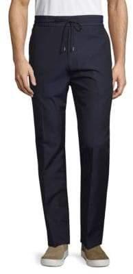 HUGO BOSS Wool Blend Drawstring Trousers