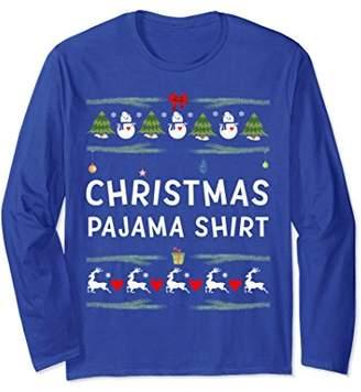 This Is My Ugly Christmas Pajama Long Sleeve Shirt