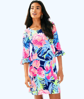 Lilly Pulitzer Womens UPF 50+ Sophie Ruffle Dress