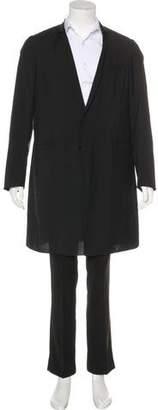Christian Dior Unlined Virgin Wool Coat