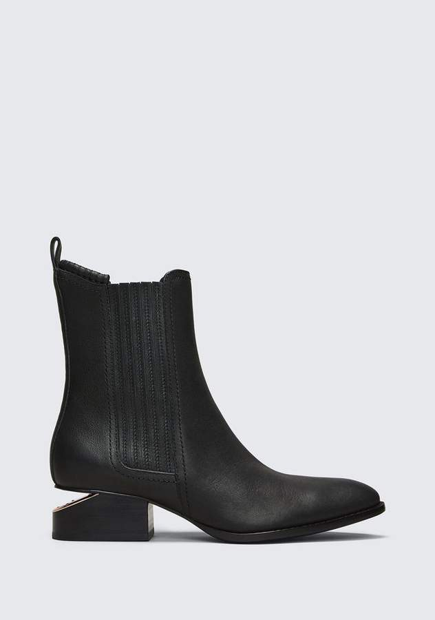 Alexander Wang ANOUCK BOOT WITH ROSE GOLD BOOTS