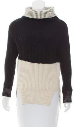 Prabal Gurung Cashmere Cable Knit Sweater