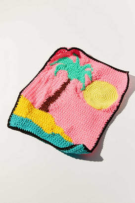 Urban Outfitters Mikki Yamashiro For One-Of-A-Kind Crocheted Wall Hanging