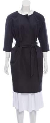 Isaac Mizrahi Silk Belted Dress