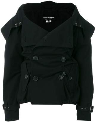 Junya Watanabe double breasted folded collar jacket