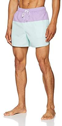 New Look Men's Colour Block Shorts,(Manufacturer Size: 54)