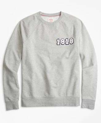 Brooks Brothers French Terry 1818 Crewneck Sweatshirt