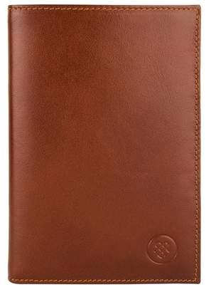 Maxwell Scott Bags Classic Tan Italian Leather Jacket Wallet For Men
