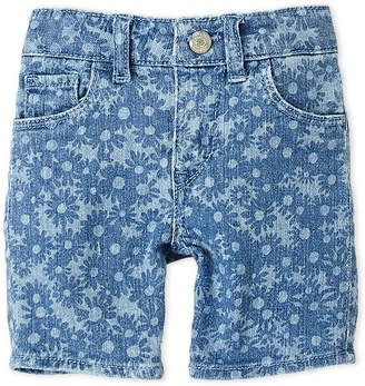 Levi's Toddler Girls) Slim Shorty Shorts
