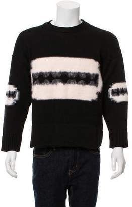 Saint Laurent 2012 Wool Razor Blade Crew Neck Sweater