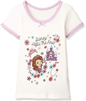 Disney (ディズニー) - [ディズニー] 小さなプリンセスソフィア3分袖Tシャツ 371100851 ガールズ オフ 日本 120 (日本サイズ120 相当)