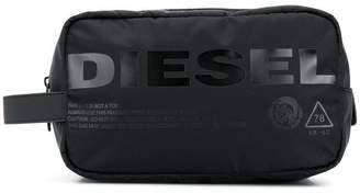 Diesel shiny print pouch