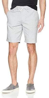 Calvin Klein Men's Stretch Linen Chambray Shorts with Drawstring