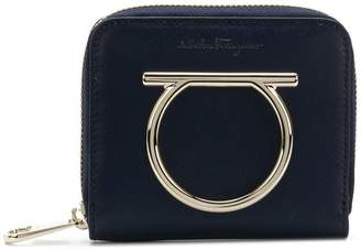 Salvatore Ferragamo Gancini zip-around French wallet