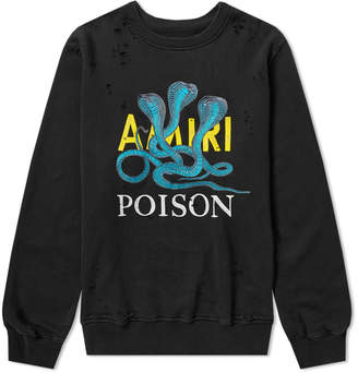 Amiri Poison Loose Fit Crew Sweat