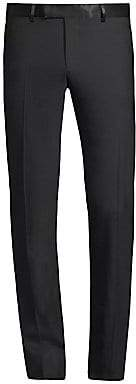 The Kooples Men's Satin-Trim Suit Pants