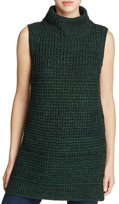 John + Jenn Sleeveless Knit Turtleneck Tunic - 100% Exclusive $99 thestylecure.com