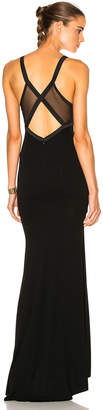 Alexandre Vauthier Stretch Jersey Gown