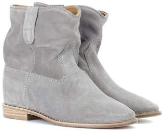 Isabel Marant Exclusive to Mytheresa Crisi suede ankle boots