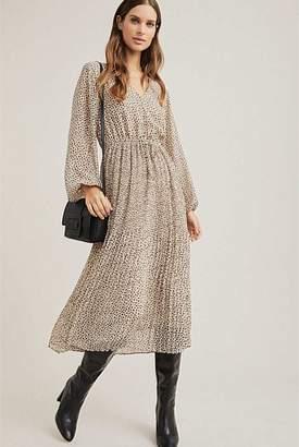 Witchery Plisse Print Dress