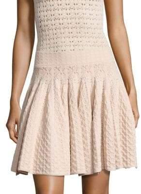 A.L.C. (エーエルシー) - A.L.C. Lana Pointelle-Knit Skirt