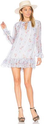 MAJORELLE Cecelia Dress in Blue $228 thestylecure.com