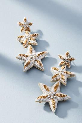 Suzanna Dai Caicos Starfish Drop Earrings