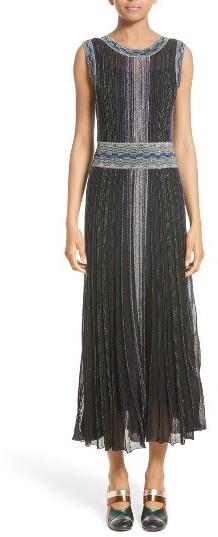 Women's Missoni Reversible Metallic Rib Knit Dress