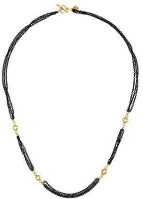 Armenta Diamond New World Multistrand Necklace