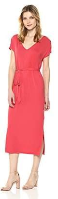 Lucky Brand Women's Button Sleeve Knit Dress
