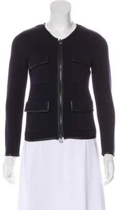 3.1 Phillip Lim Merino Wool Knit Jacket