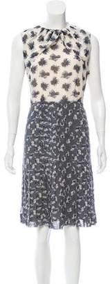 Tory Burch Silk Floral Dress