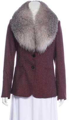 Veronica Beard Wool Short Coat