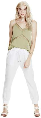 GUESS Women's Newport Linen Pants