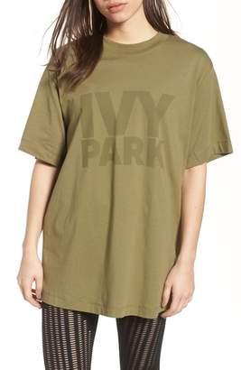 Ivy Park R) Programme Oversize Logo Tee