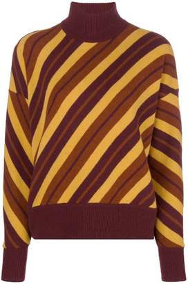Marni diagonal stripe sweater