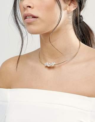 Johnny Loves Rosie Blush Stone Choker Necklace