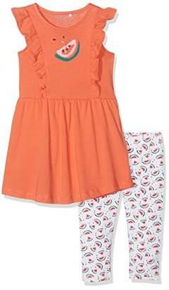 Name It Girl's Nmfvenus Set H Clothing, Orange Emberglow