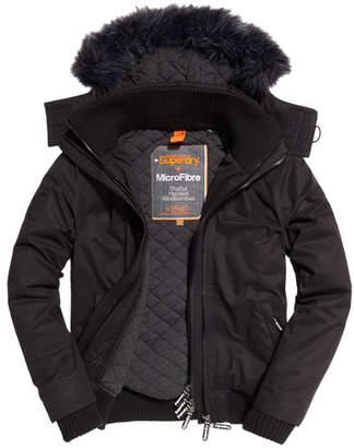 Superdry Microfibre Fur Hooded SD-Windbomber Jacket