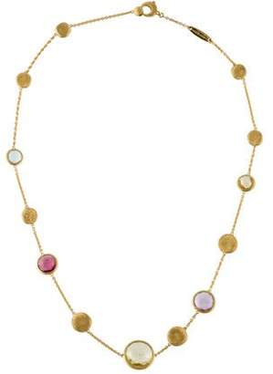 Marco Bicego 18K Multistone Jaipur Necklace