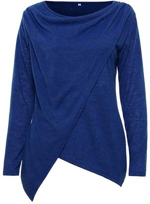 3e8d7e97307 at Amazon Canada · ARRIVE GUIDE Womens Irregular Cowl Neck Solid Winter  Pullovers Knit Sweaters X-Large