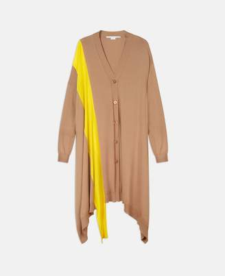Stella McCartney beige soft knit cardigan