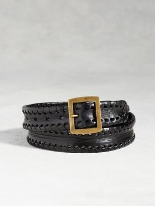 Artisan Whip Stitch Belt $268 thestylecure.com