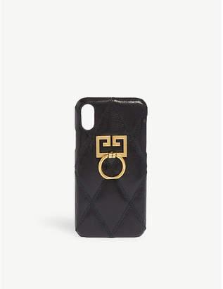 Givenchy GG logo iPhone X/Xs case