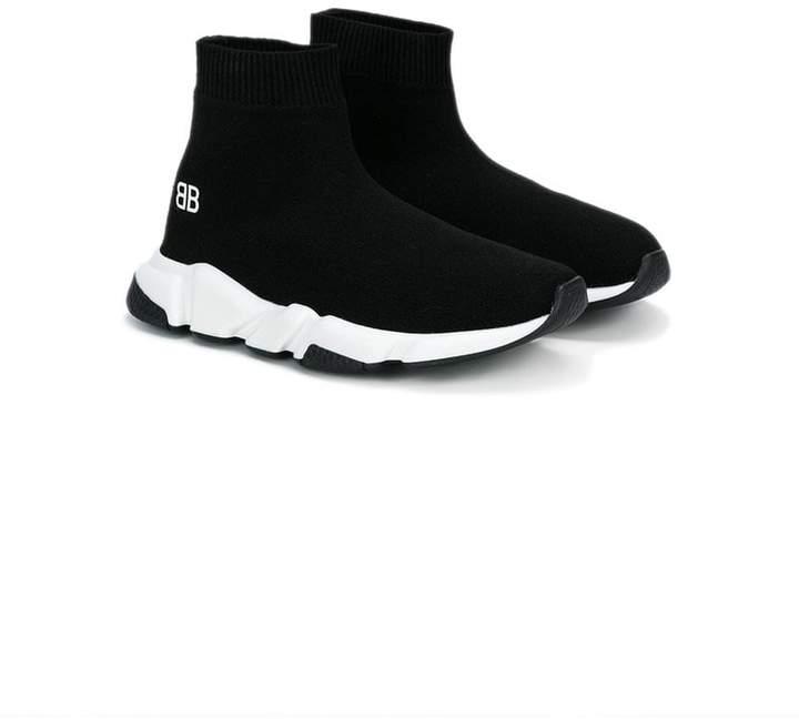Balenciaga Kids Speed slip-on sneakers