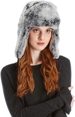 Surell Real Fur Trapper Hat