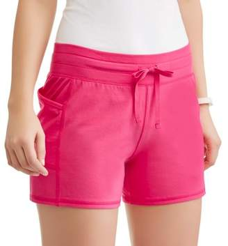 Athletic Works Women's Core Active Performance Short with Media Pocket